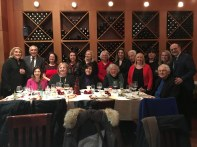 2019 Christmas Holiday Gathering of IHCC Board members.